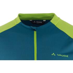 VAUDE SE Me Maro T-shirt Halve Rits Heren, baltic sea